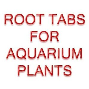 FERTILIZER ROOT TABS (FERTILIZER FOR AQUARIUM PLANTS)