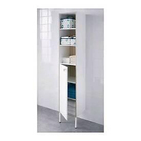 Ikea Tyngen bathroom high cabinet