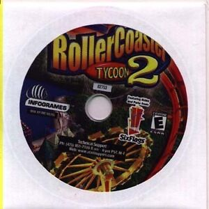 ROLLER COASTER TYCOON 2   New   Run the Ultimate Amusement Park  Rollercoaster