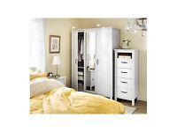 Ikea Wardrobe and 2 sets of drawers Brusali