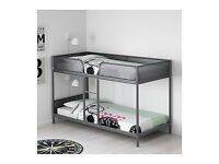 Ikea metal bunk bed 2 available model Tuffing