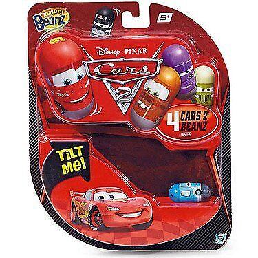 Disney Pixar Cars Mighty Beanz 4-Pack