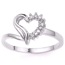 10ct gold diamond heart ring brand new Argenton Lake Macquarie Area Preview