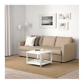 Ikea friheten beige sofabed