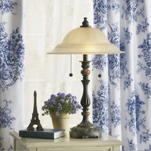 JCPenney Home Frosted Glass Table Lamp Windsor Region Ontario image 1