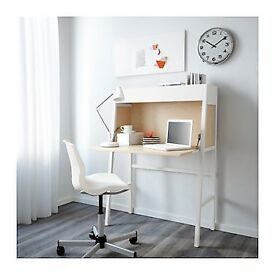 Fold up desk bureau Ikea