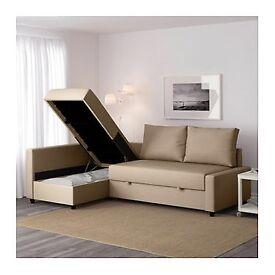 IKEA Corner sofa-bed with storage FRIHETEN
