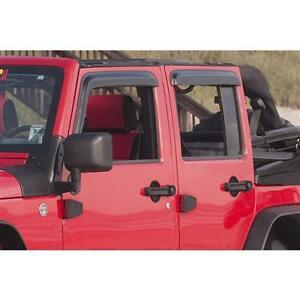 Window Rain Deflectors 07-17 JEEP Wrangler