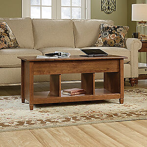 Lift Top Coffee Table - Auburn Cherry finish. (Scratch & Dent)