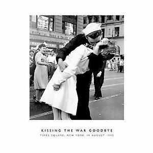 Print: Victor Jorgensen-Kissing the War Good-bye in Times Square