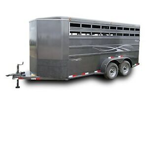 wanted used cattle trailer