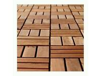 Outdoor Decking IKEA wood RUNNEN can deliver