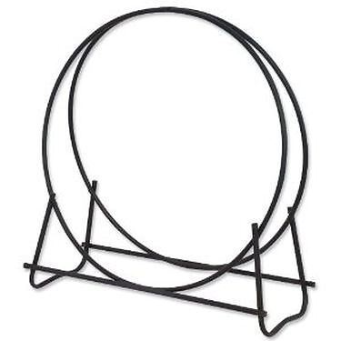 - Black 40 inch Diameter Log Hoop
