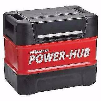 ✪ PROJECTA POWER-HUB AND 150 AMP GEL BATTERY AND 8 AMP CHARGER Ashmore Gold Coast City Preview