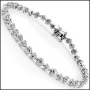1 Ct Diamond Bracelet