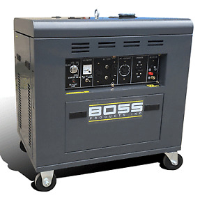 Diesel 8500 commercial generator, new units