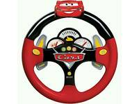 Cars 2 lights & sounds steering wheel toy