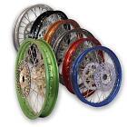 KLR 250 Rear Wheel