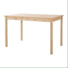 Pine table IKEA Ingo