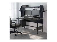 Ikea FREDDE workstation computer desk