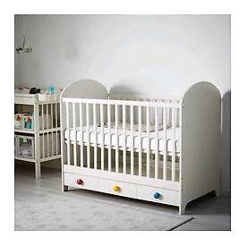 IKEA Gonatt baby toddler cot - Like New!