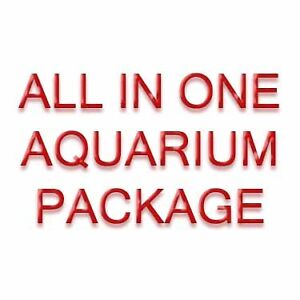 ALL IN ONE AQUARIUM PACKAGE (SUBSTRATE + PLANTS + MORE)