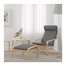 Ikea sleigh chair