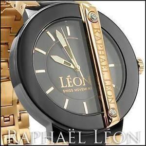 Raphael Leon CLASSIC II Black Ion Diamond Designer Watch Craigieburn Hume Area Preview