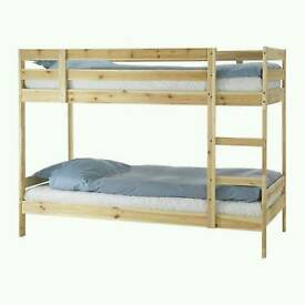 Ikea Bunk bed with matresses