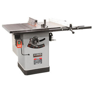KING INDUSTRIAL TABLESAW