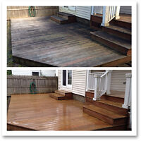 Deck Cleaning and Resurfacing / Refinishing