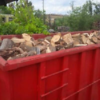 Almost 6 bush cords of outdoor furnace/ wood boiler firewood