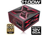 Strike-X 1100w 80Plu Gold PSU