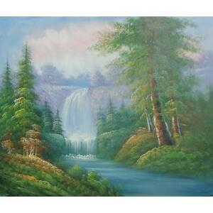 Natures Beauty - Hand Painted Oil on Canvas