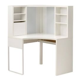 Micke Ikea desk unit