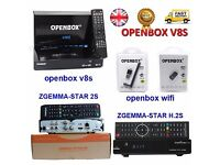★ORiGiNaL✰600 MHZ✰OPeNBOx V8S HD 1080p SAT ReCeiVeR✰FULL 12 MTHS CHANNELS✰