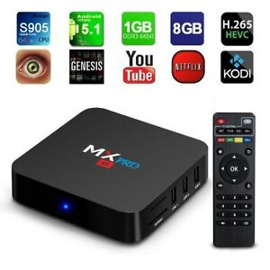 New - HD QUAD CORE ANDROID TV BOX - 1000's OF PROGRAMS TO WATCH