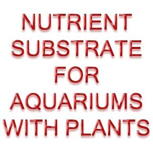 NUTRIENT SUBSTRATE FOR AQUARUIMS WITH PLANTS - FISH SAFE