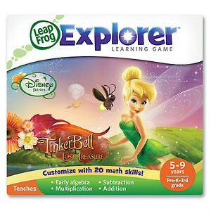 LeapFrog Explorer™ Learning Game: Disney Fairies: Tinker Bell