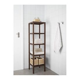 IKEA MOLGER HEMNES wooden shelving unit bathroom kitchen storage