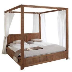 himmelbett m bel einebinsenweisheit. Black Bedroom Furniture Sets. Home Design Ideas