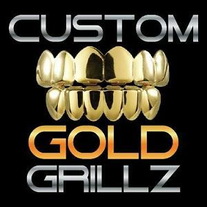 GOLD CUSTOM GRILLZ IN MONTREAL