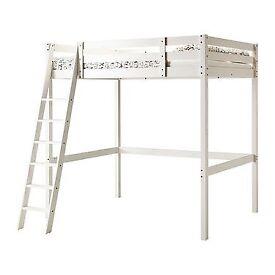 Ikea Stora double loft bed - used