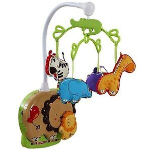 Mobile musicale Ficher-Price Zoo / Fisher-Price Luv U Zoo Soothe
