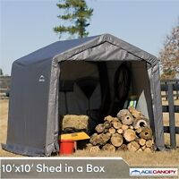 Shelter Logic 10X10X8 Shed In A Box