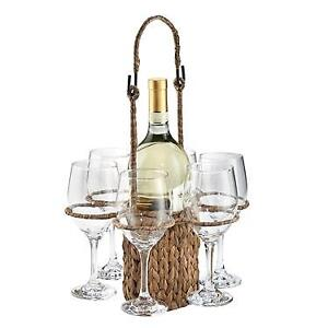 Wine Glass & Carrier
