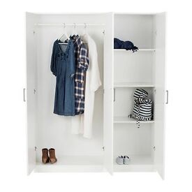 Brand new Sealed Ikea 3 door wardrobe. Selling due to reallocation
