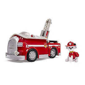 Paw Patrol Sounds Vehicle with Marshall Figure, like NEW
