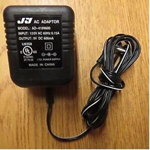 9 VOLT AC ADAPTER FOR SALE - FINAL CLEARANCE - ONLY $1.00
