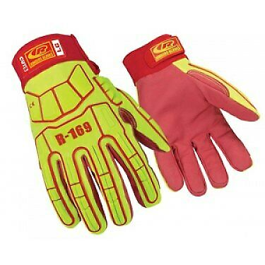 Ringers Gloves R-169 Impact Glove Synthetic Leather Cut Resistant Size L